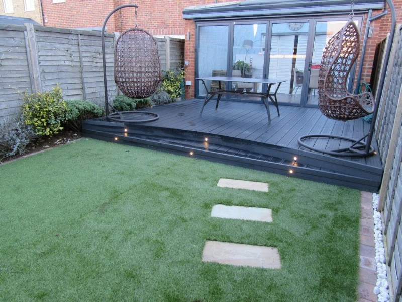 Black Charcoal Grey Composite Decking Board From 3 88 M 2 9m X 150mm X 25mm