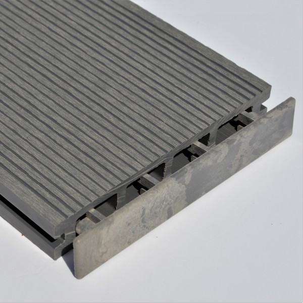 Light Grey Stone Grey Plastic End Cap For Composite