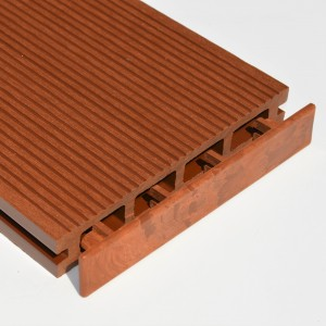 Brown Red | Red Cedar | Teak | Plastic End Cap | for Composite Decking Board | 150mm Wide
