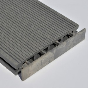 Light Grey | Stone Grey | Plastic End Cap | for Composite Decking Board | 150mm Wide