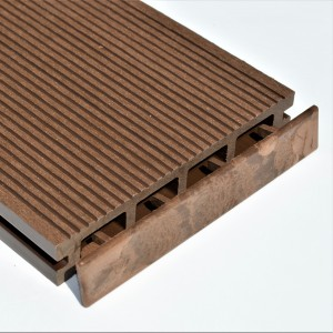 Dark Brown | Chocolate | Coffee | Plastic End Cap | for Composite Decking Board | 150mm Wide