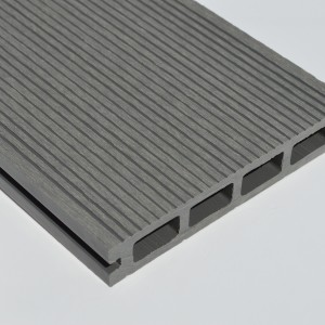 Light Grey / Stone Grey Wood Plastic Composite - WPC - Decking Board 2.2m Long