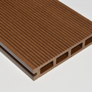 Dark Brown | Chocolate | Coffee | Composite Decking Board Sample | WPC