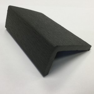 Graphite Grey / Dark Grey Composite Decking Finishing Angle | WPC | Wood Plastic Composite | 2.9m Long