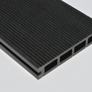 Black | Charcoal Grey Composite Decking Board | WPC | 3.6m Long
