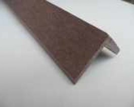 Dark Brown | Coffee Composite Decking Finishing Angle | WPC | Wood Plastic Composite | 2.9m Long