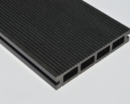 Black | Charcoal Grey | Composite Decking Board Sample | WPC