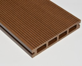 Composite Decking Board Sample | Dark Brown | Chocolate | Coffee | WPC