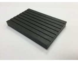 Graphite Grey | Dark Grey Composite Decking Skirting | 2.9m Long | WPC | Wood Plastic Composite