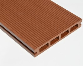 Brown Red | Teak | Red Cedar | Composite Decking Board SAMPLE | WPC