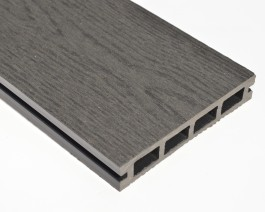 Woodgrain Stone Grey | Composite Decking Board | WPC | 2.9m Long