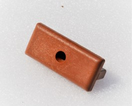 Brown Red | Teak | Nylon T Clip | for Composite Decking Board | 5mm Gap