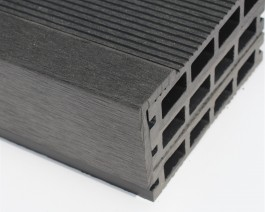 Black | Charcoal | Anthracite Composite Decking Finishing Angle | WPC | Wood Plastic Composite | 2.9m Long