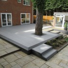 Light Grey | Stone Grey Composite Decking Board | WPC | 2.9m Long