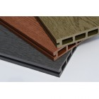 Woodgrain Graphite Grey | Dark Grey Composite Decking Board | WPC | 2.9m Long