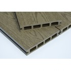 Woodgrain Forest Green / Olive Green Wood Plastic Composite - WPC - Decking Board 2900mm Long