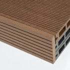 Dark Brown | Coffee Composite Decking Skirting | 2.9m Long | WPC | Wood Plastic Composite
