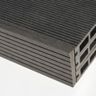 Black / Charcoal Wood Plastic Composite - WPC - Decking Skirting 2900mm Long