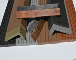 Composite Decking Finishing Accessories | Angles | Skirting | End Caps | WPC | Wood Plastic Composite